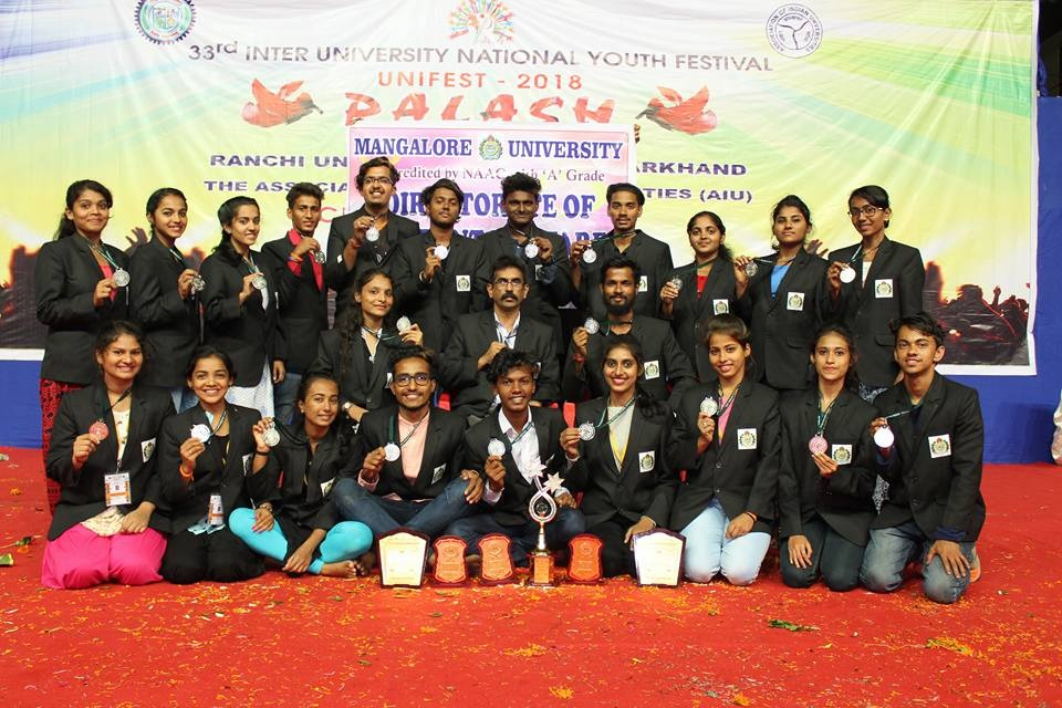 Govinda Dasa College Students bring laurels to Mangalore University