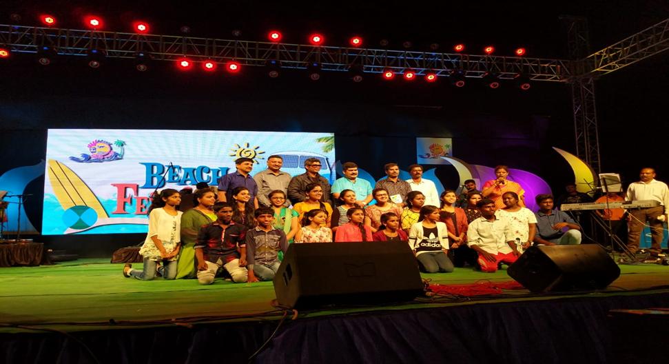 Beach Festival – Final Round 2018-19: GDC students win Prize