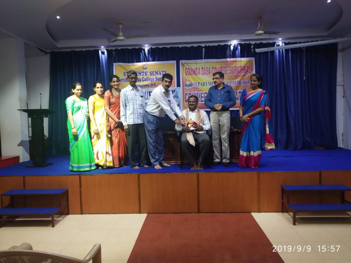 An interactive talk with Sri. Bhaskar Rao – 2019-20