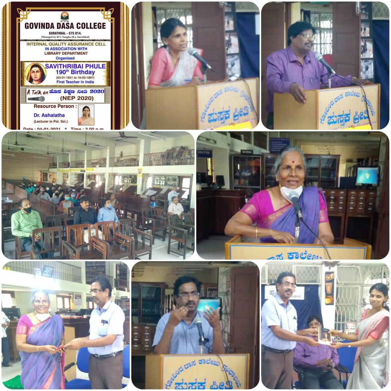 Savithribai Phule's  190th Birth Anniversary Celebration  (20-21)